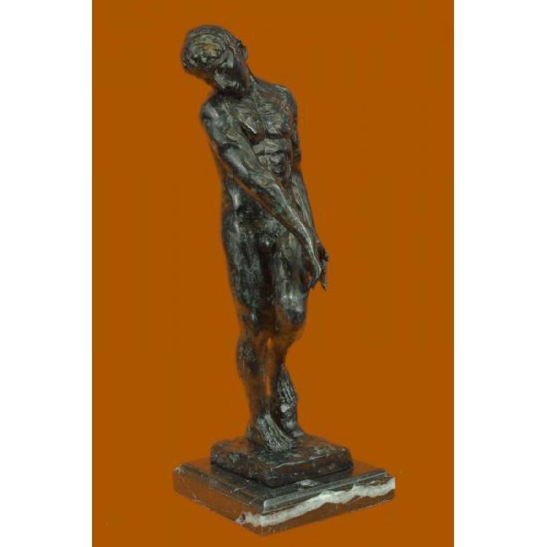 Auguste Rodin. Adam French Sculptor Classic Artwork