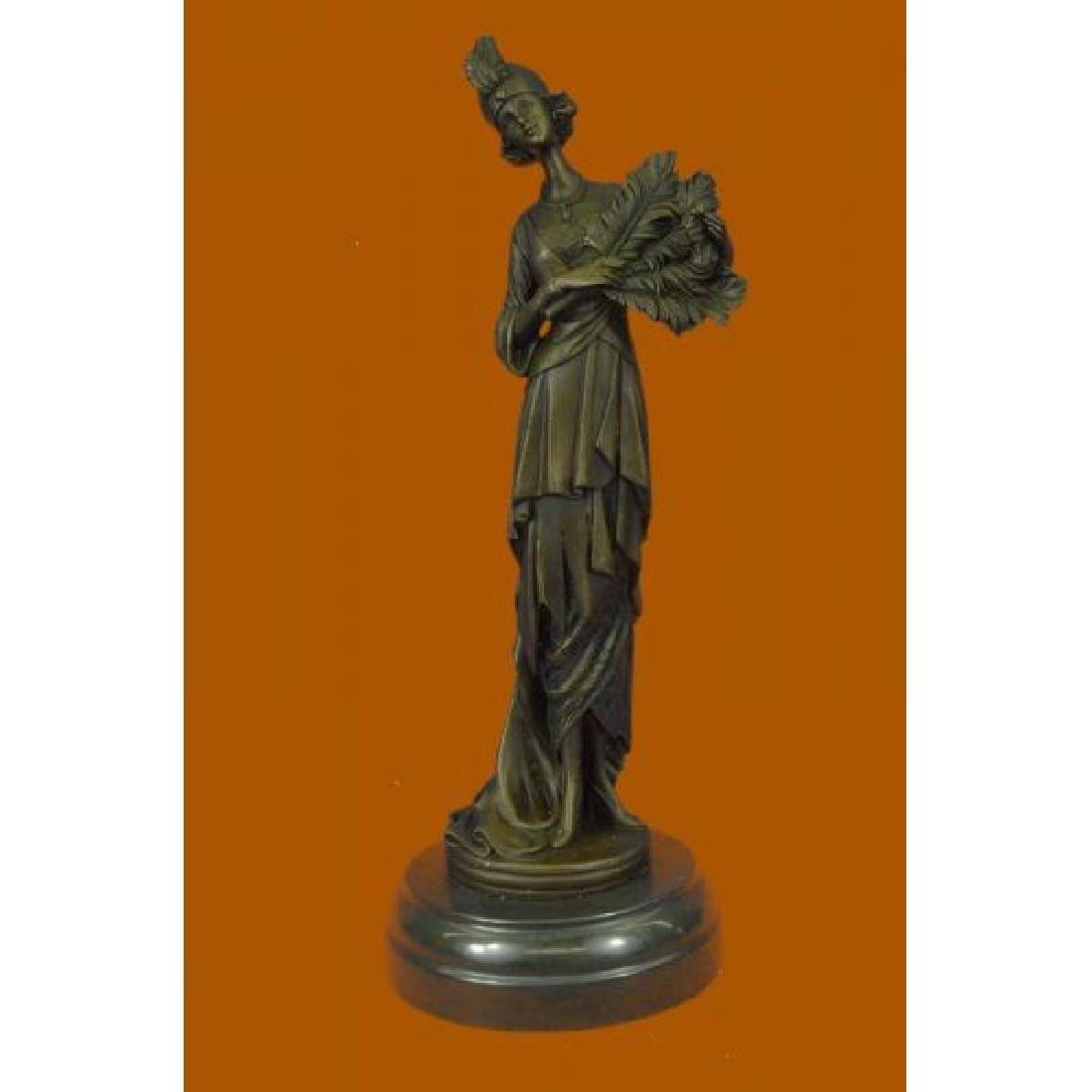 Kassin 1920 Art Deco Style Woman Bronze Sculpture