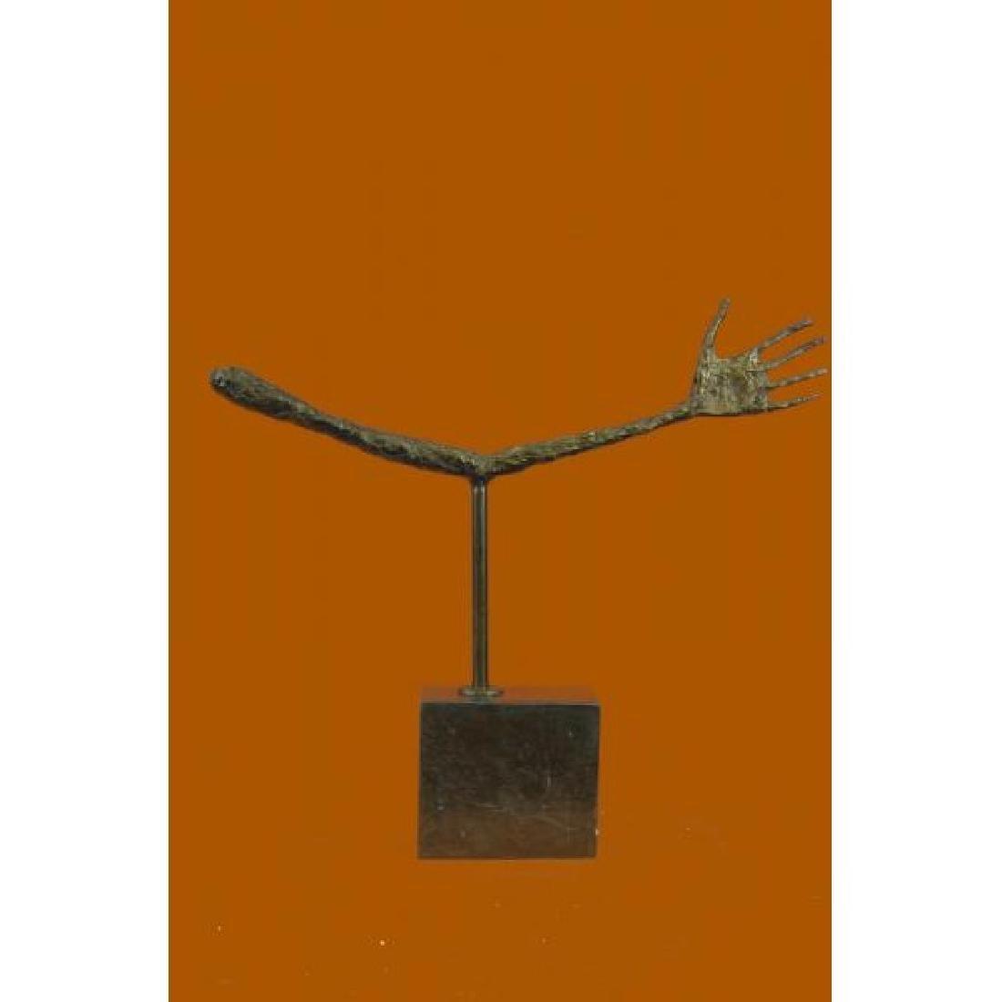 Sculpture Giacometti Style Mid Century Hand Figure