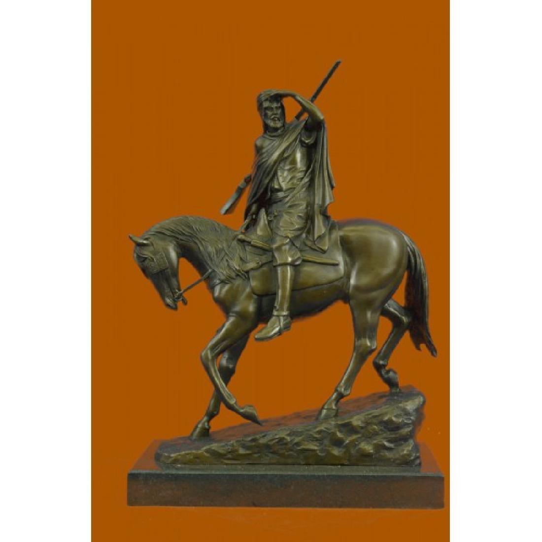 Bonheur Arab Man On a Horse Bronze Sculpture Museum