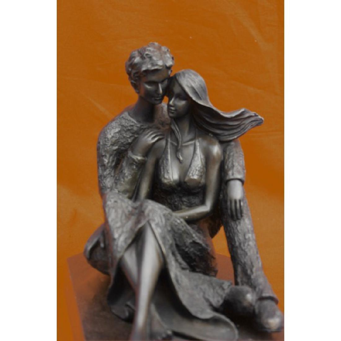 Mid Century Aldo Vitaleh Male and Female Tender Embrace