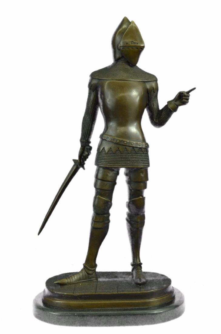 Knight Warrior Bronze Statue