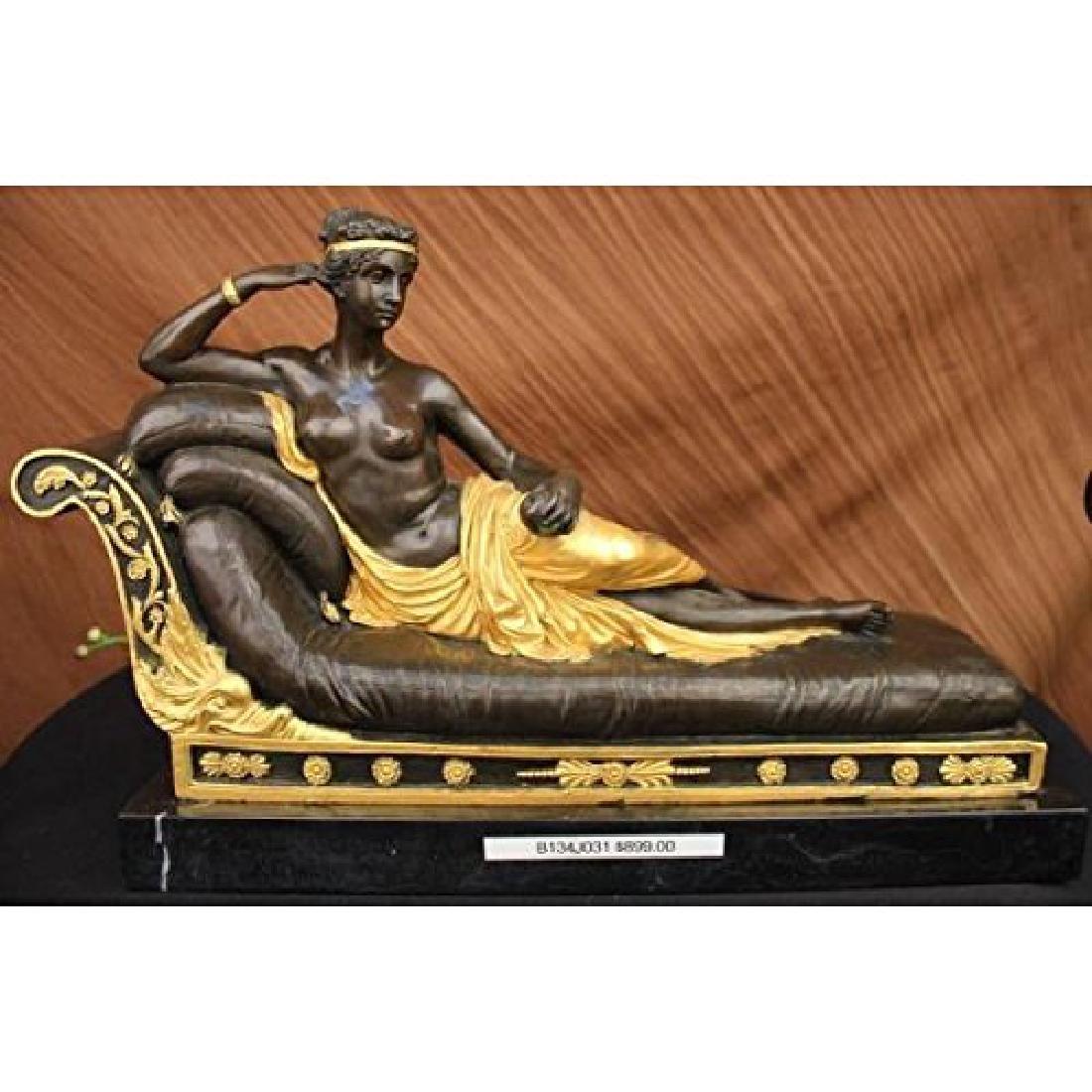 Nude Napoleon Sister Bronze Sculpture