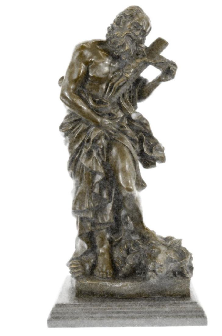 Valli Judas With Lion Jesus Crucifix Religious Bronze