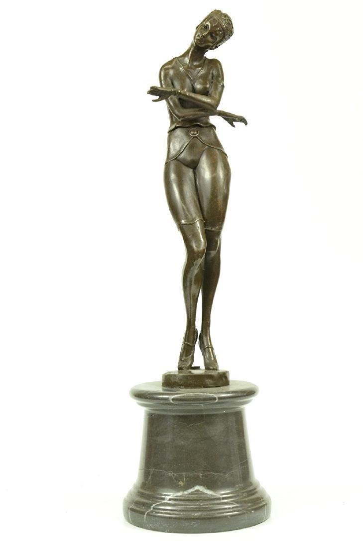 Russian Dancer Bronze Sculpture