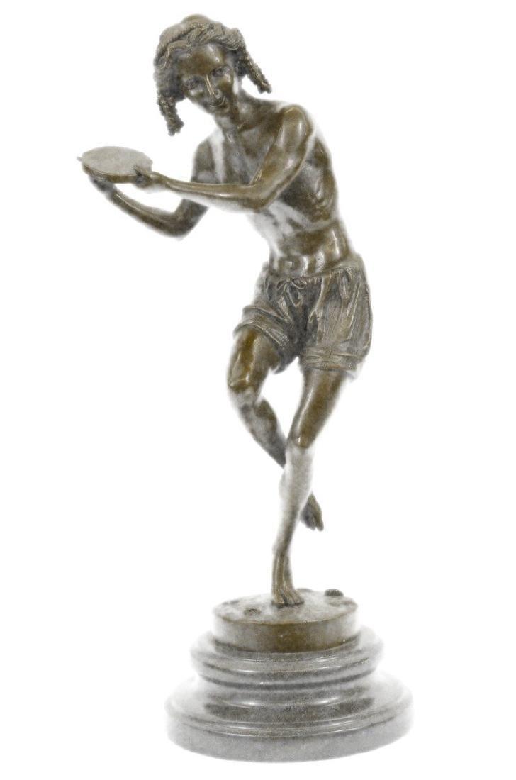 Dancing Youth Bronze Sculpture