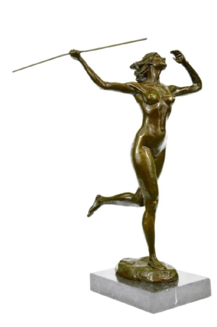 Nude Diana the Huntress Bronze Sculpture