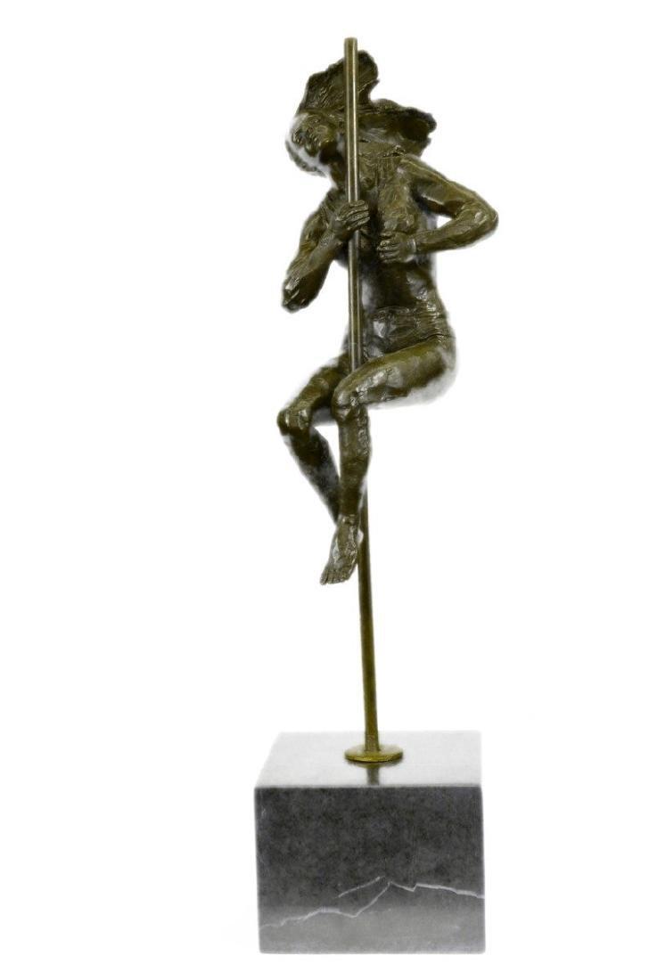 Cirque du Soleil Performer Bronze Sculpture