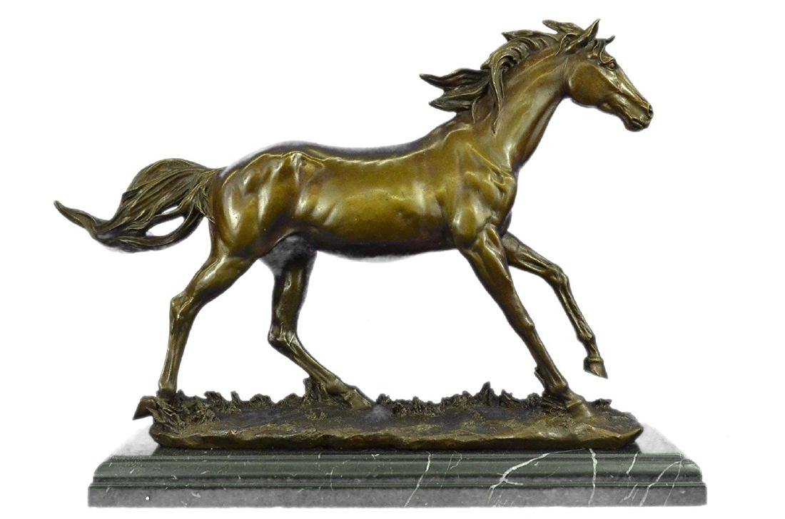 Arabian Horse Bronze Sculpture