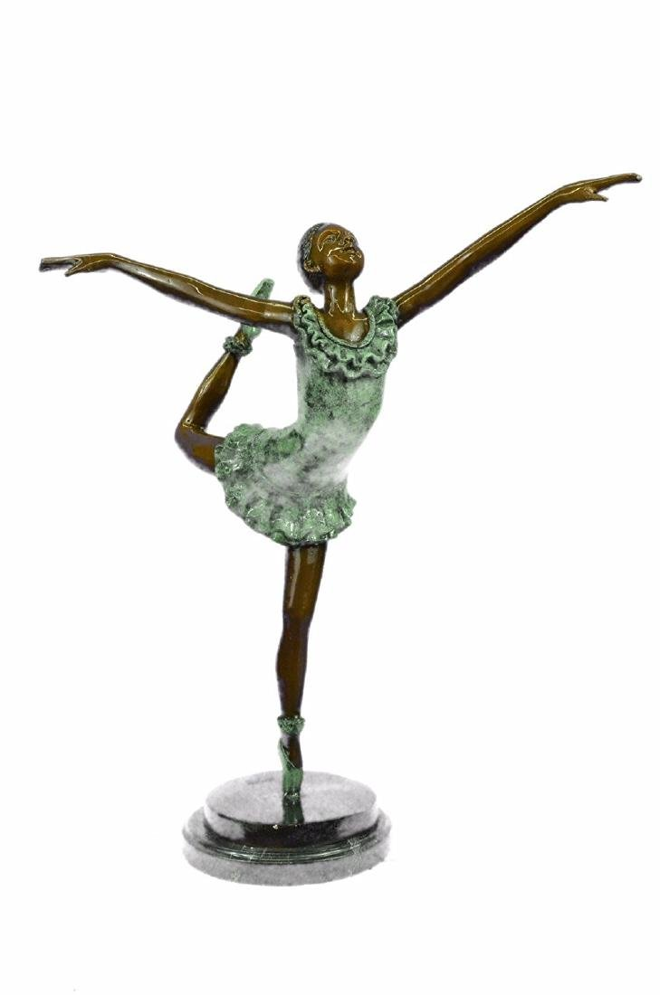 Ballerina Sexy Girl Dancer Bronze Statue