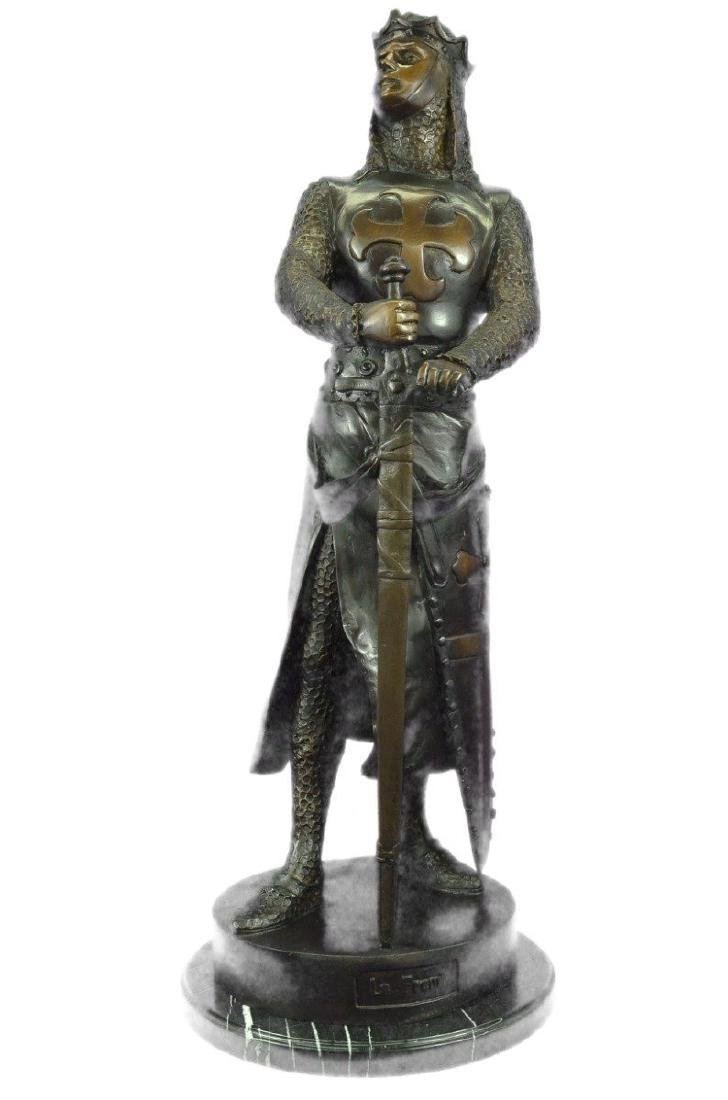 Museum Quality Roman Warrior Soldier Bronze Sculpture
