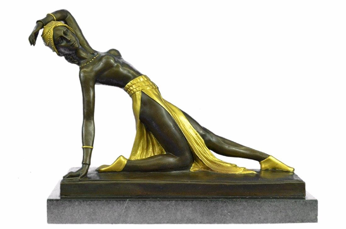 Exotic Dancer Bronze Sculpture