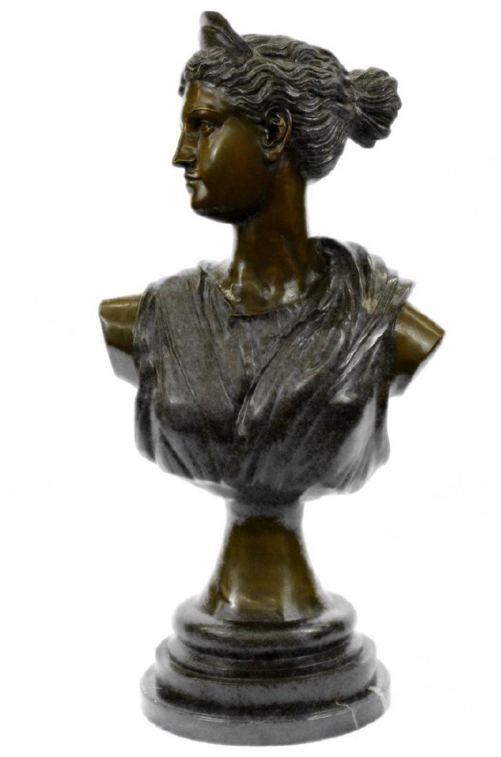 Giancarlo Egyptian Cleopatra Bronze Sculpture