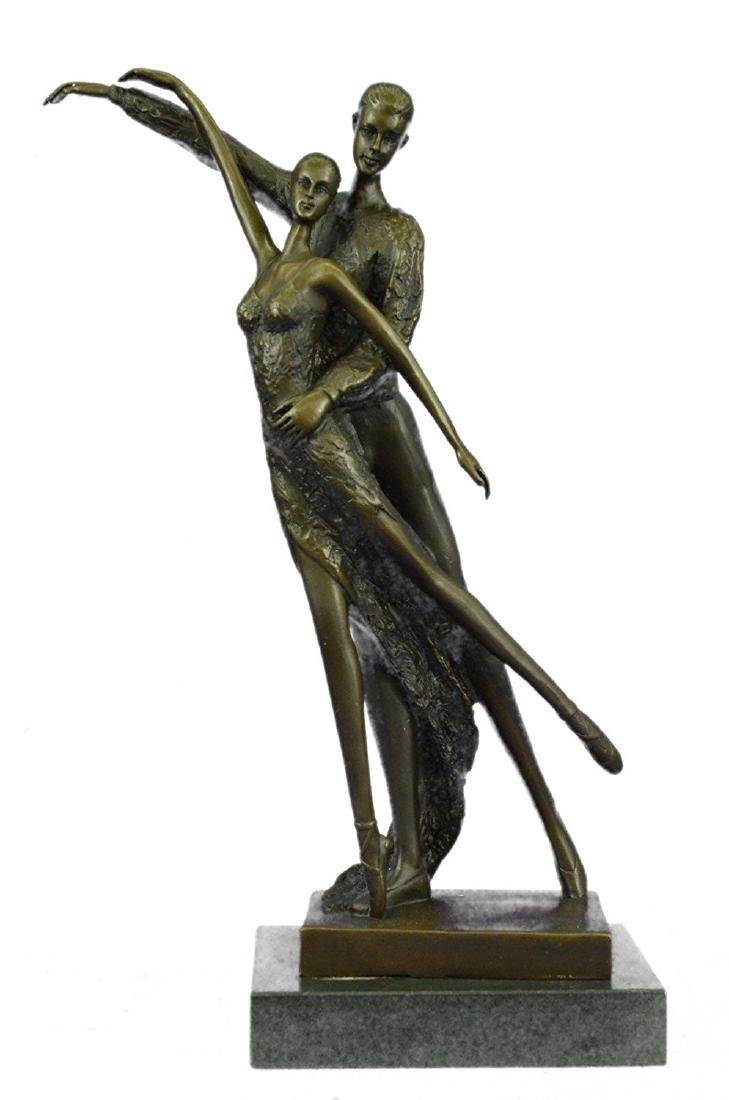 Ballerina Dancers Bronze Sculpture