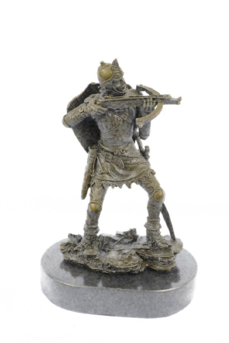 Japanese Warrior Bronze Sculpture