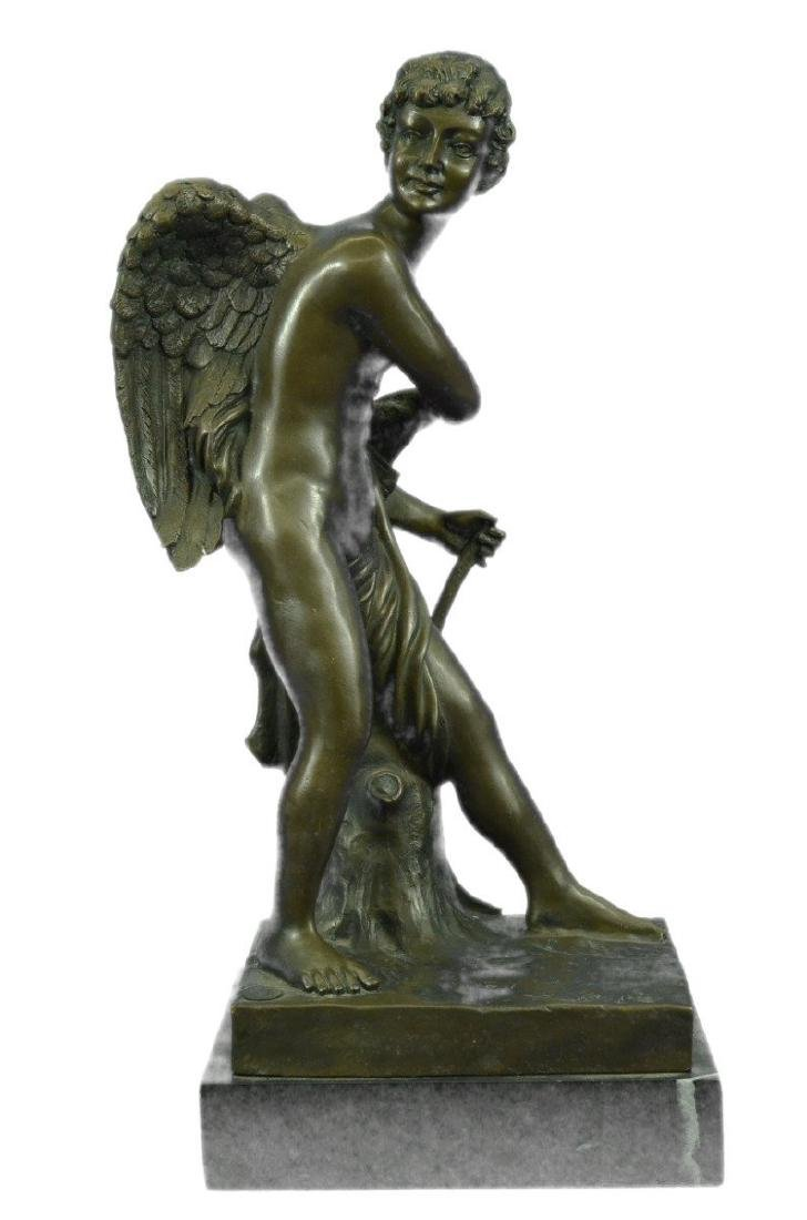 Valentine Cupid Eros Bronze Sculpture