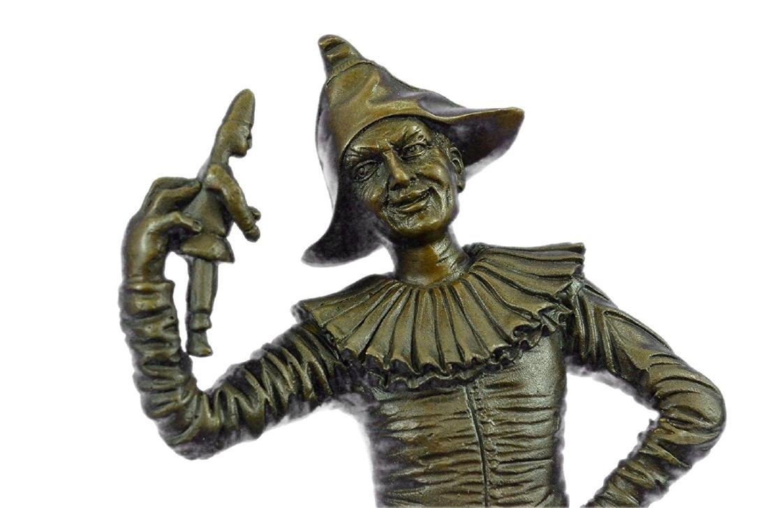 Lively Jester Bronze Sculpture - 2