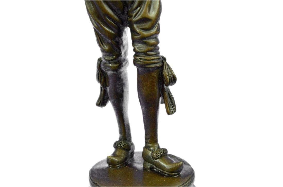 Lively Jester Bronze Sculpture - 3