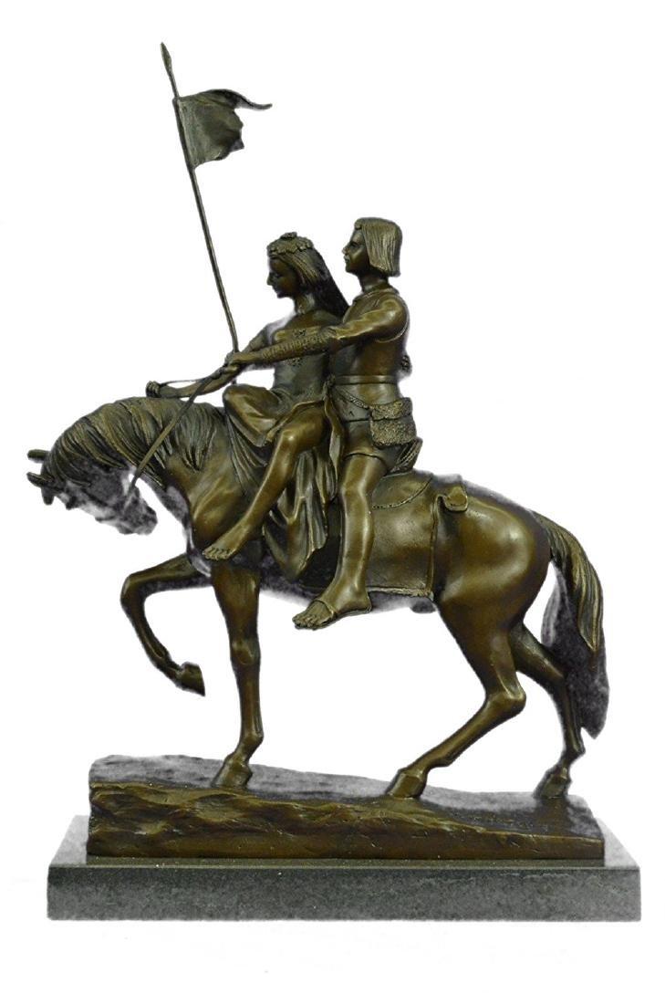 Julius Dark Patina Bronze Figure