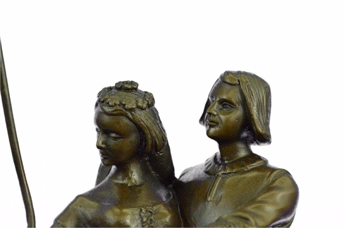 Julius Dark Patina Bronze Figure - 2