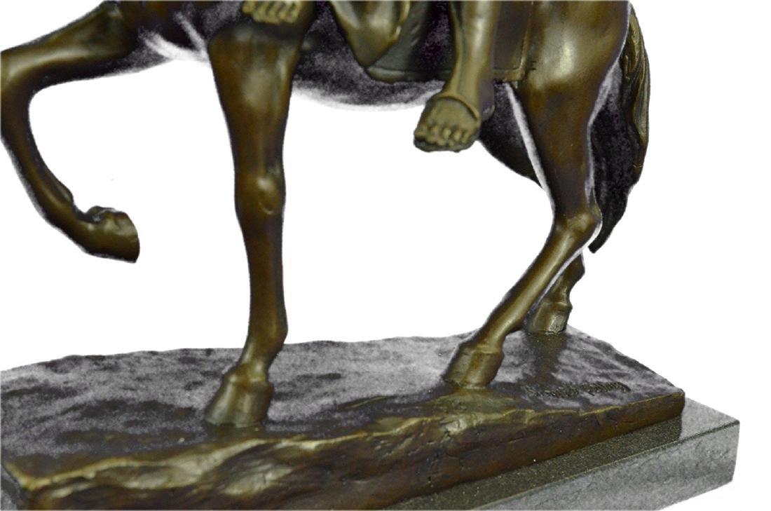 Julius Dark Patina Bronze Figure - 3