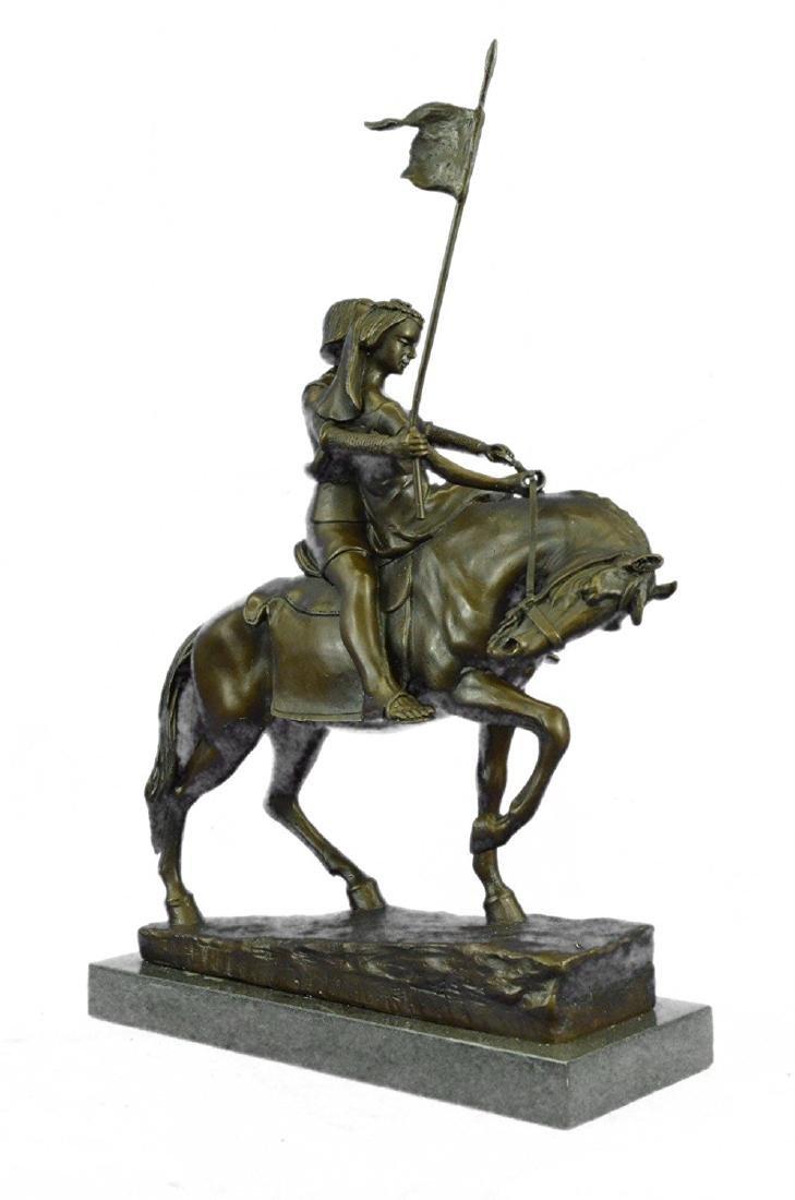 Julius Dark Patina Bronze Figure - 8