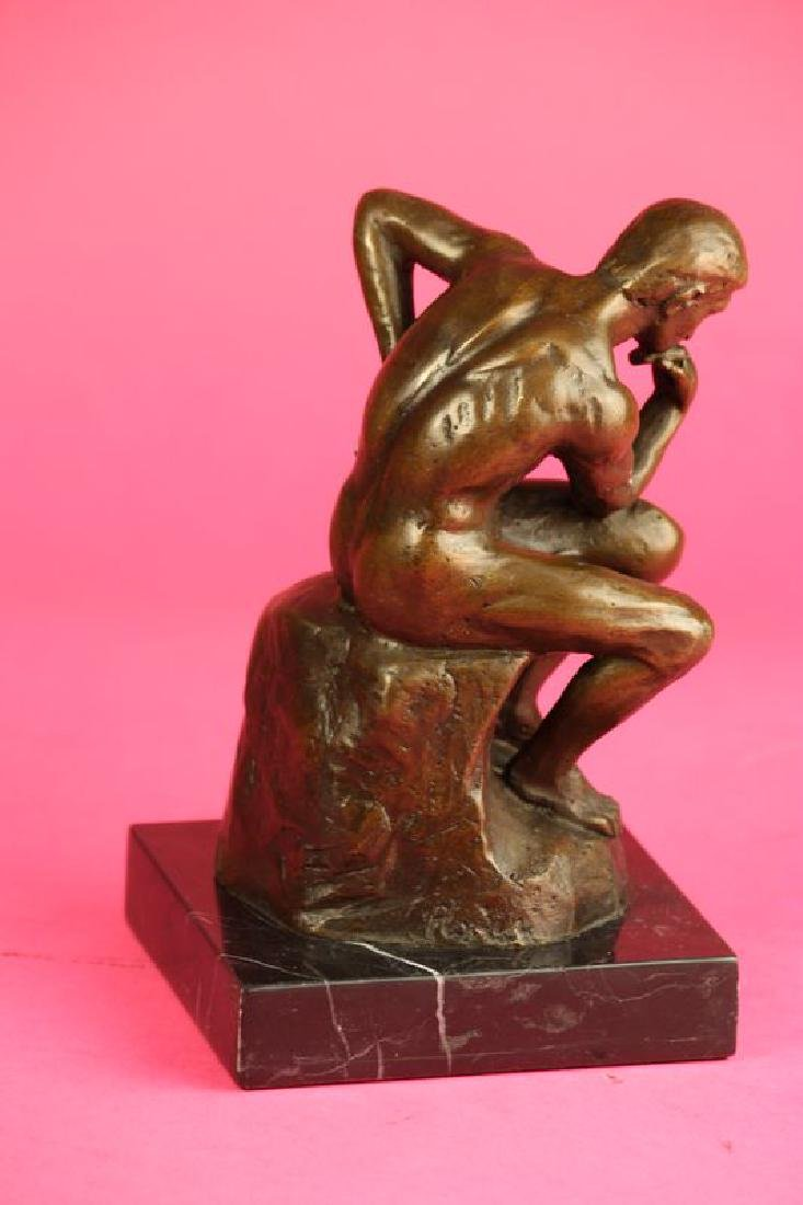 Thinker Man Bronze Statue - 11