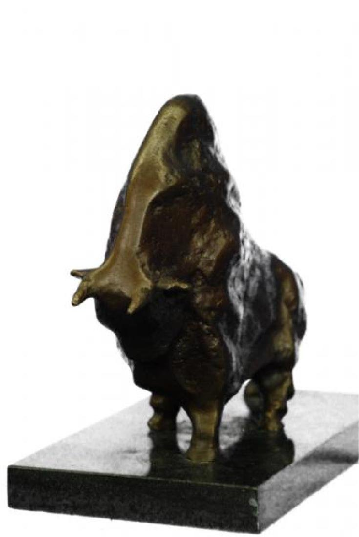 Bull Bronze Sculpture - 3
