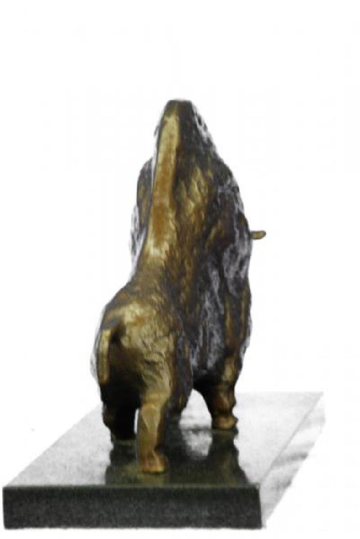 Bull Bronze Sculpture - 5