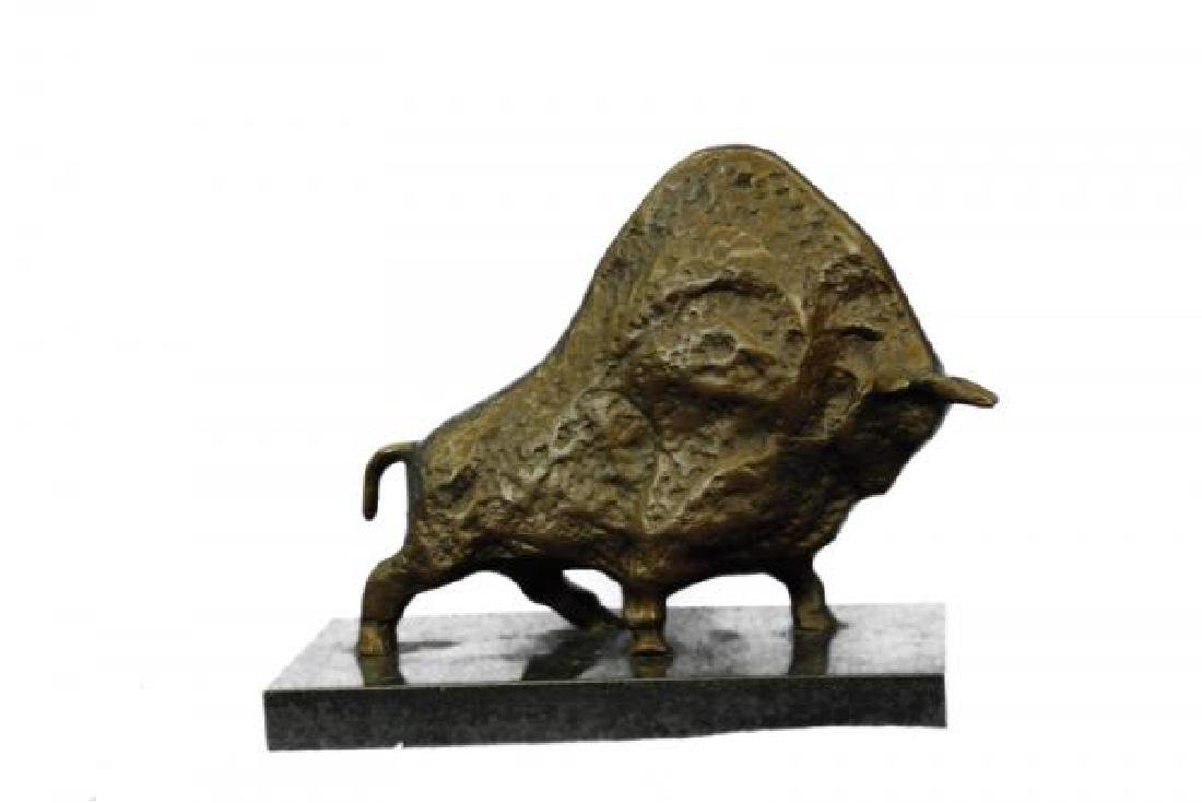 Bull Bronze Sculpture - 6