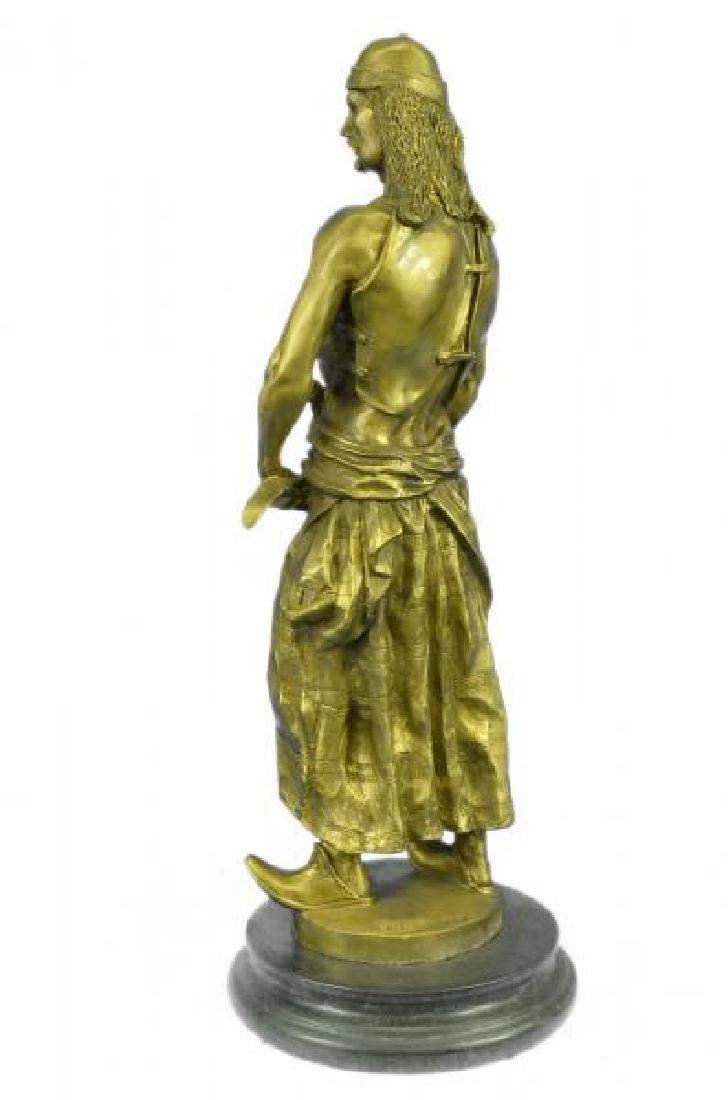 Orientals Arab With Sword Bronze Sculpture - 2