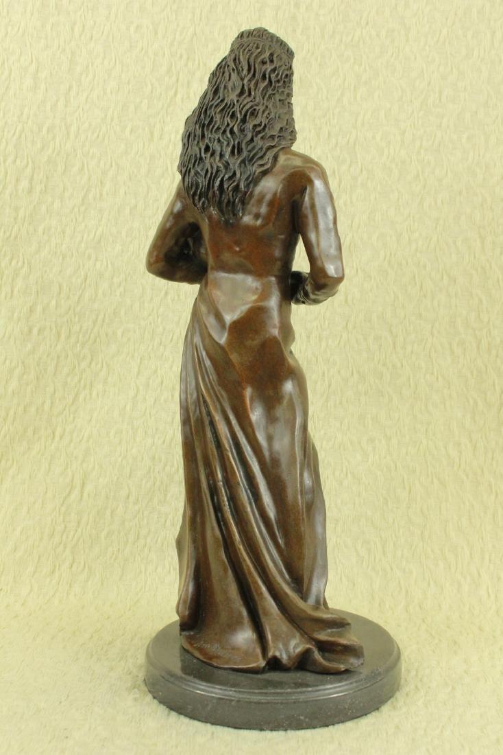 Mother Love Child Bronze Sculpture - 4