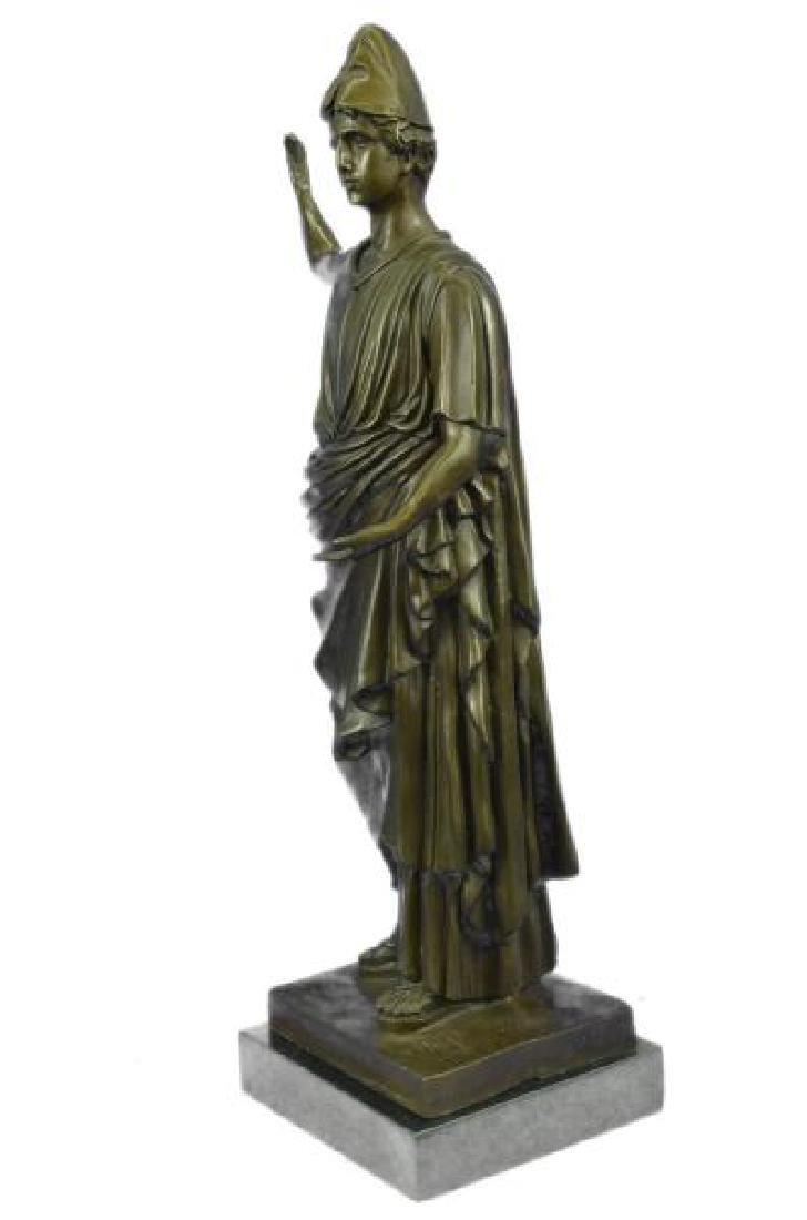 Dino Decarlo Roman Prince Royalty Bronze Sculpture