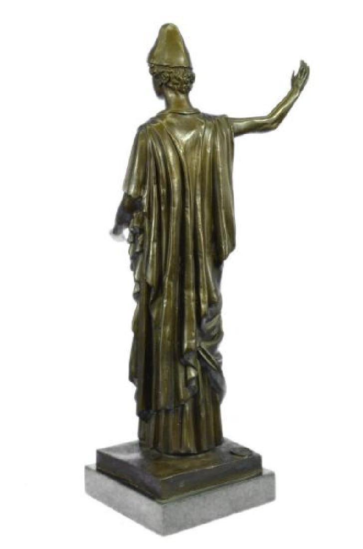 Dino Decarlo Roman Prince Royalty Bronze Sculpture - 2