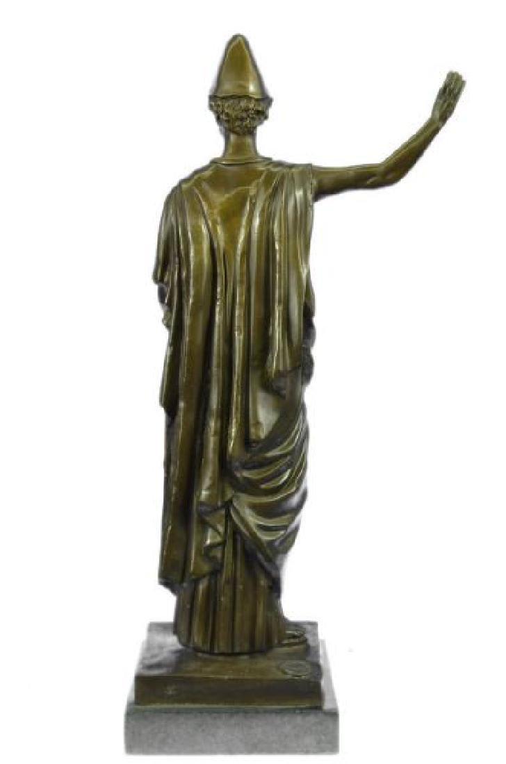 Dino Decarlo Roman Prince Royalty Bronze Sculpture - 3