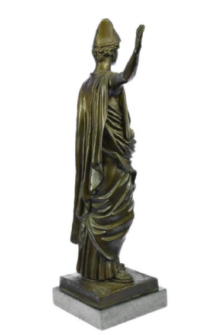 Dino Decarlo Roman Prince Royalty Bronze Sculpture - 4