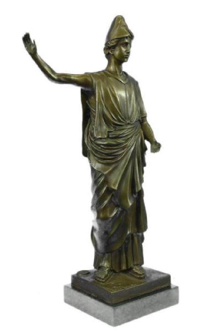 Dino Decarlo Roman Prince Royalty Bronze Sculpture - 5