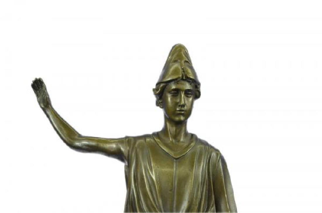 Dino Decarlo Roman Prince Royalty Bronze Sculpture - 6