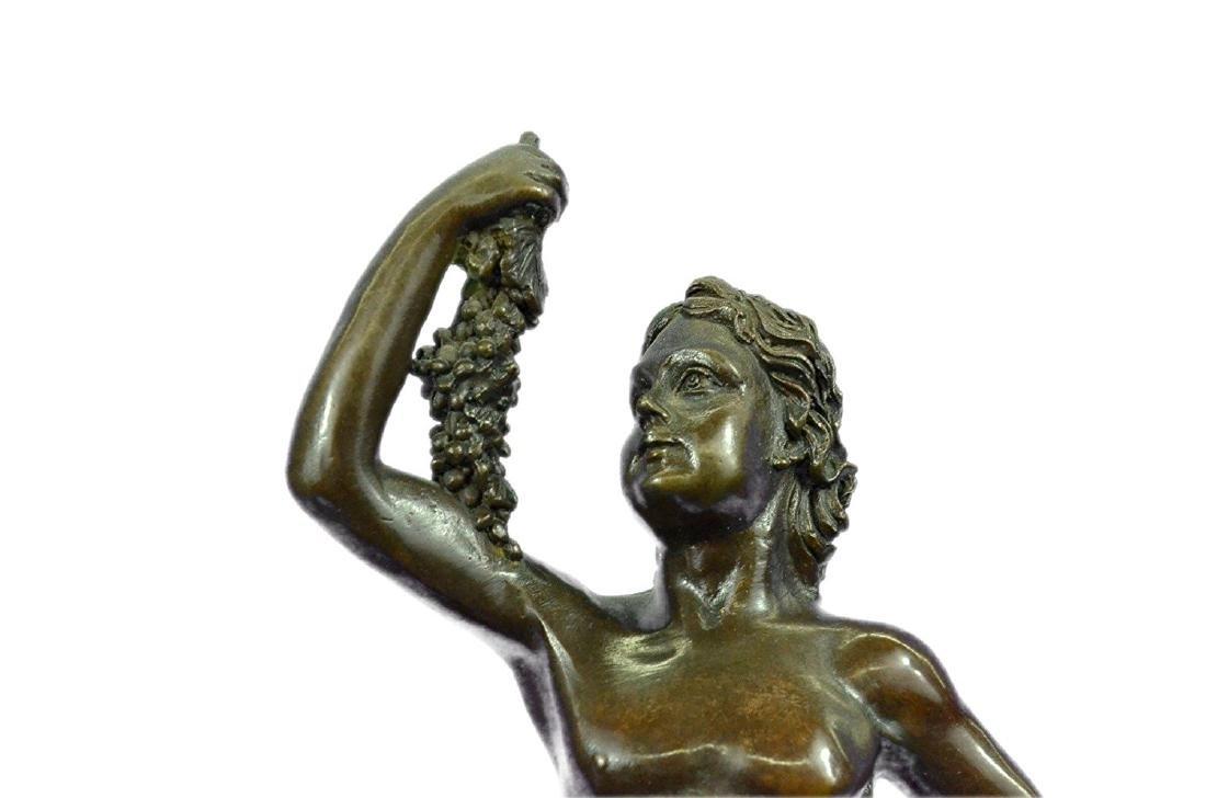 Wild Child Riding a Panther Bronze Sculpture - 2