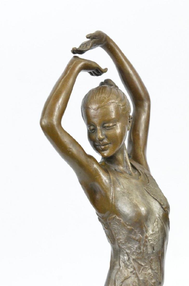Ballerina Dancer Bronze Sculpture - 2