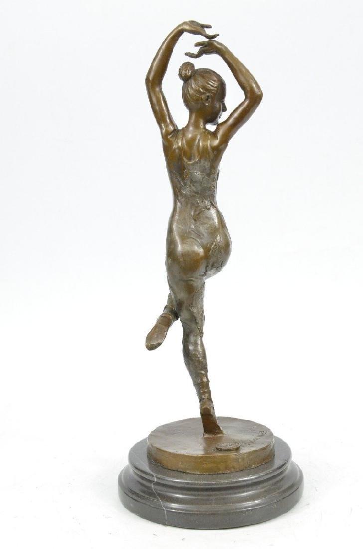 Ballerina Dancer Bronze Sculpture - 4
