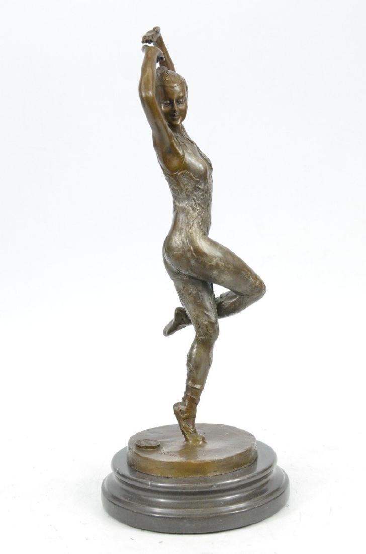 Ballerina Dancer Bronze Sculpture - 5