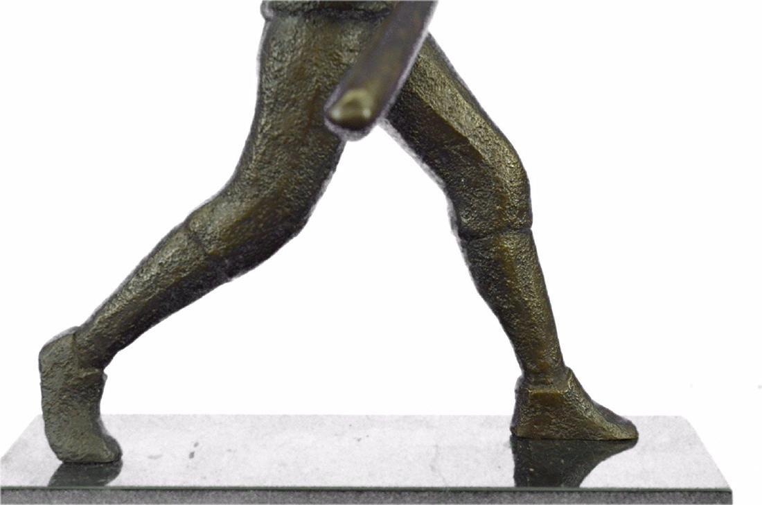 Baseball Player Bronze Statue - 3