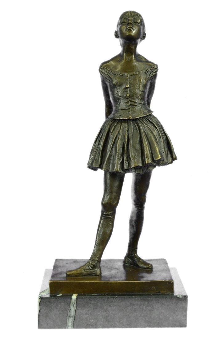 Ballerina The Little Dancer Bronze Sculpture