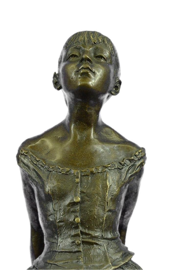 Ballerina The Little Dancer Bronze Sculpture - 2