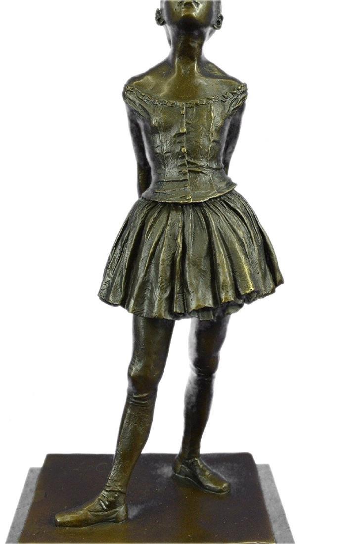 Ballerina The Little Dancer Bronze Sculpture - 3