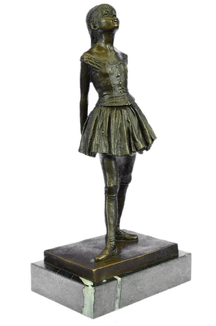 Ballerina The Little Dancer Bronze Sculpture - 5