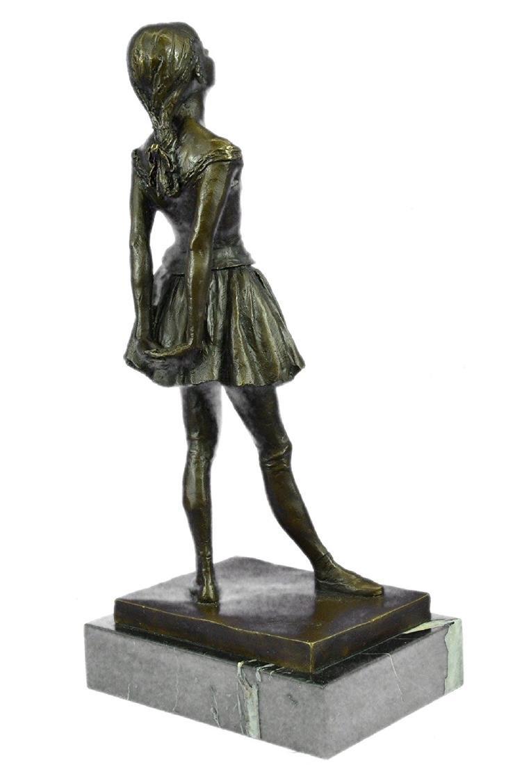 Ballerina The Little Dancer Bronze Sculpture - 6