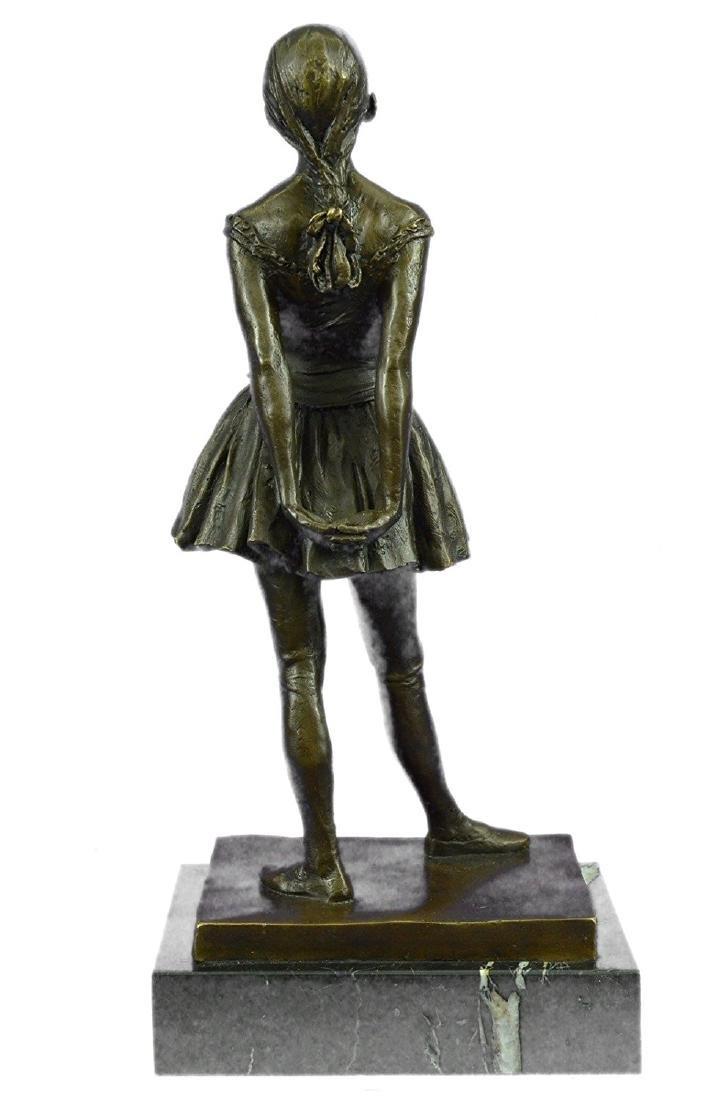 Ballerina The Little Dancer Bronze Sculpture - 7