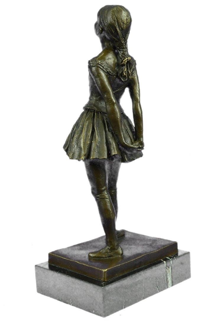Ballerina The Little Dancer Bronze Sculpture - 8